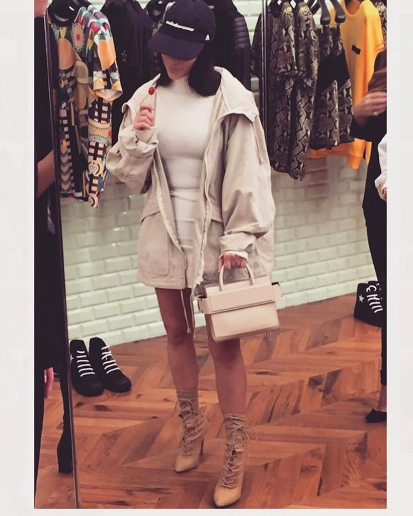 Kim Kardashian's Picked Up Her Latest IT Bag in Dubai and Got an Equally Cool Gift For North