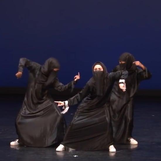 Muslim Dance Group Wears Hijabs (Video)