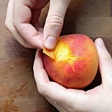 Peeling Peaches Easily