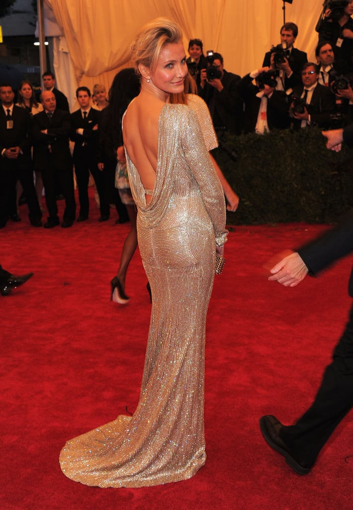 Cameron Diaz showed off her figure Stella McCartney gown | Cameron ...