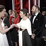 Kate Middleton and Prince William With Olivia Colman BAFTAs