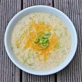 Cheddar-Cauliflower Soup: 12.7 grams