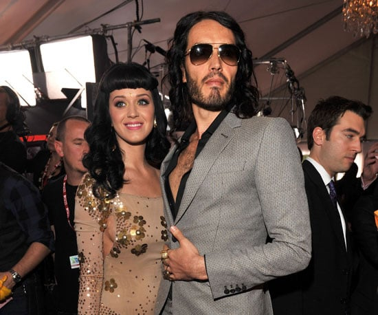 Russell Brand joined nominee Katy Perry on the red carpet before 2010's star-studded ceremony.