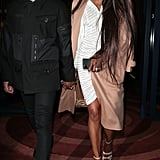 Naomi Campbell's Street Style at London Fashion Week