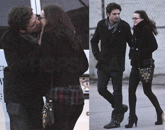 Photos of Leighton Kissing Sebastian in NYC 2009-12-17 20:17:11