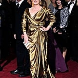 Meryl Streep at the 2012 Academy Awards