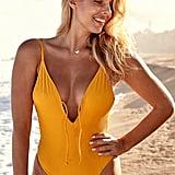 Monday Swimwear Malibu One Piece - Mango Rib