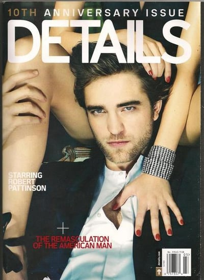 Robert Pattinson does Details-march 2010