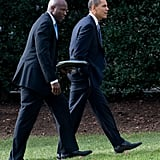 Reggie has been by Obama's side since he was a senator.