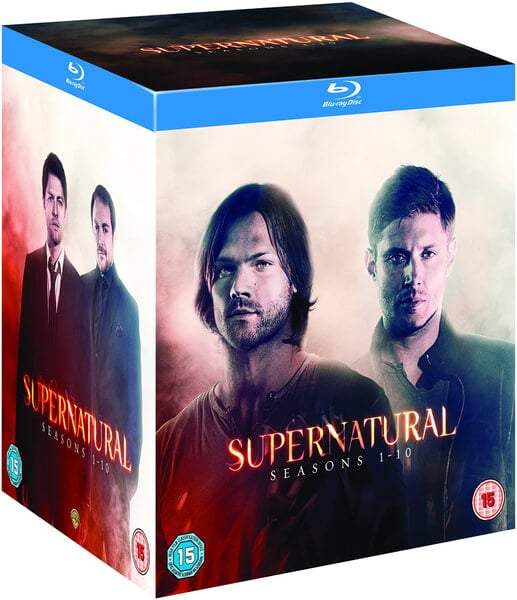 Supernatural: Seasons 1-10 on Blu-ray ($100)