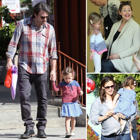 Ben and Jen Spend a Packed Weekend With Seraphina and Violet