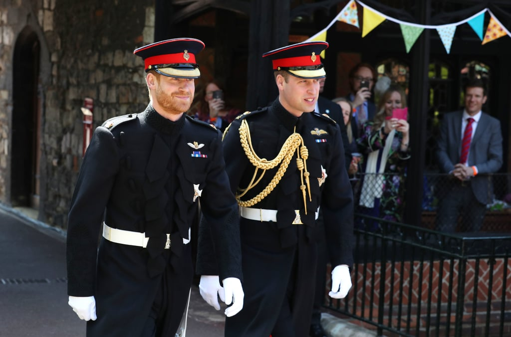 Both of the Uniforms For Harry's Wedding Were Tailored by Dege & Skinner on Savile Row