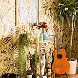 """Justina's home proves it is possible to stay true to your boho-glam style while decorating for the holidays. She didn't even succumb to green and red decor. """"I think that any colour can be festive, especially once paired with plants or flowers and metallic elements."""""""