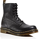 Dr. Martens Pascal Leather Combat Booties