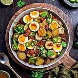 Warm Chorizo Potato Salad
