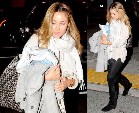 Lauren at JFK