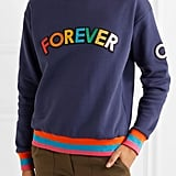 Mira Mikati Appliquéd Cotton-jersey Sweatshirt