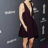 Rooney Mara posed on the carpet.