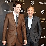 Robert Pattinson Poses With a Mini Elephant at Berlin Premiere!
