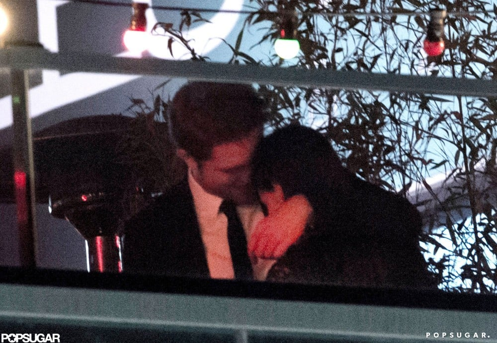 Robert Pattinson and Kristen Stewart shared a sweet embrace at an On the Road afterparty during the 65th annual Cannes Film Festival in May 2012.