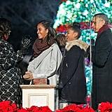 When their Christmas spirit was palpable.