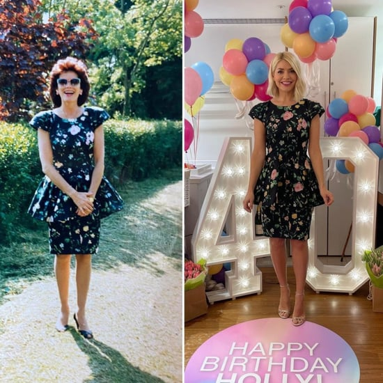 Holly Willoughby Wears Her Mum's Dress For 40th Birthday
