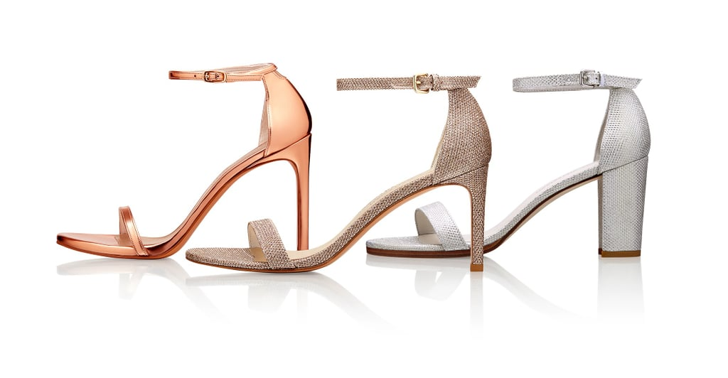 You Can Customize Stuart Weitzman's New Bridal Shoes With Your Wedding Date