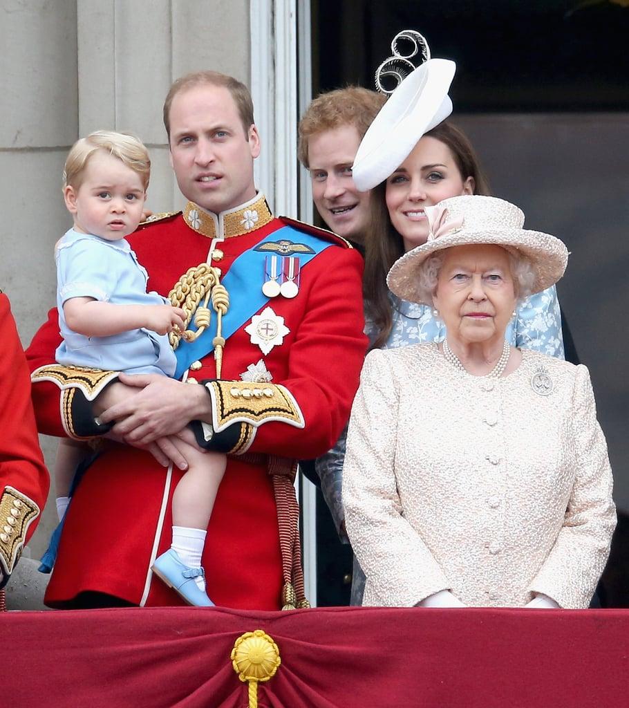 Looking Unimpressed: Prince George
