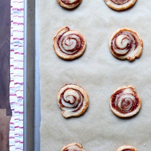 Strawberry Puff Pastry Pinwheels