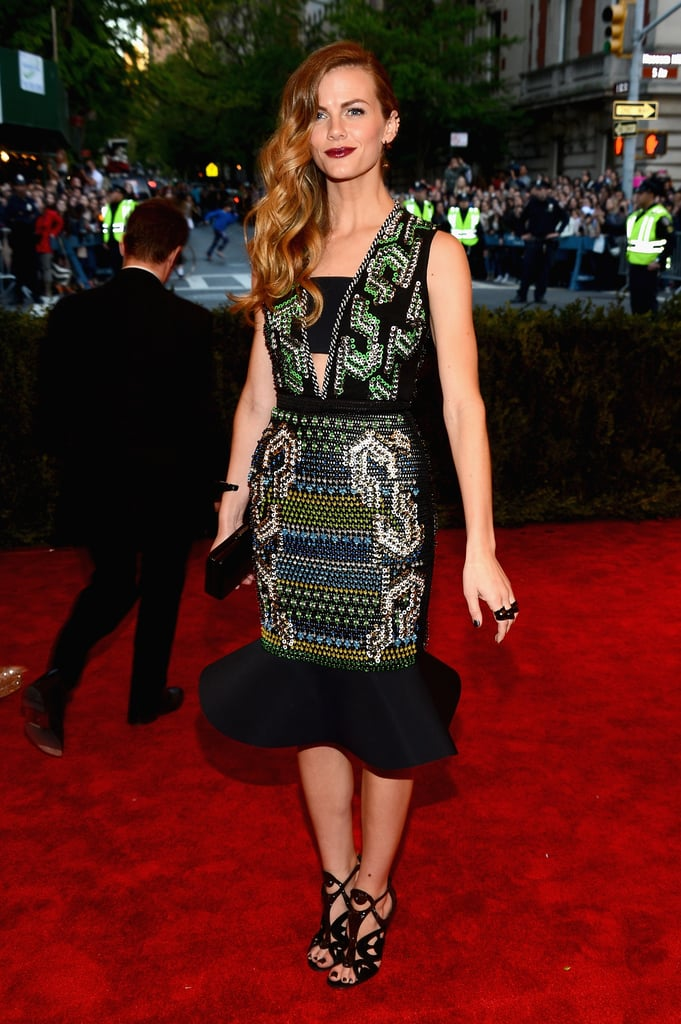 Brooklyn Decker at the Met Gala 2013.