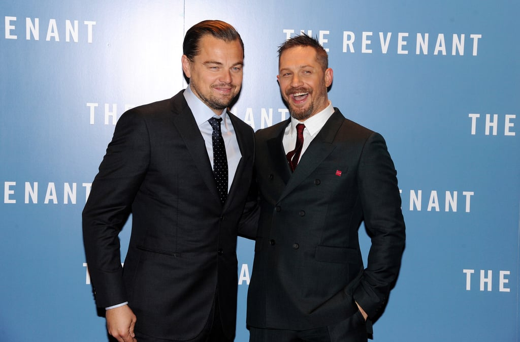 The duo looked dapper as hell at the UK premiere of The Revenant in 2016.