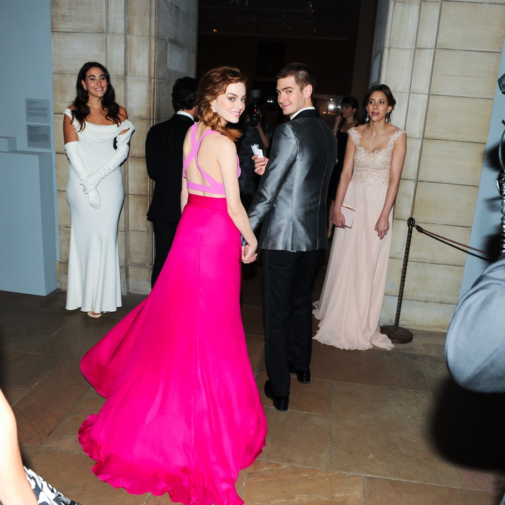 Emma Stone and Andrew Garfield, 2014 | Best PDA Pictures From the ...
