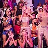 Halsey, Bella Hadid, and Gigi Hadid at the 2019 MTV VMAs