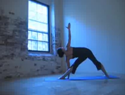 Yoga Video of Warrior Triangle Sequence