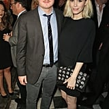 Nic Pizzolatto and Kate Mara mingled inside the event.