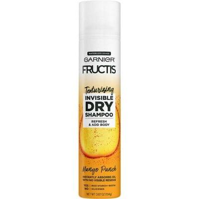Garnier Fructis Texturizing Invisible Dry Shampoo in Mango Punch