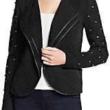 Nic+Zoe Stud & Zipper-Detail Jacket