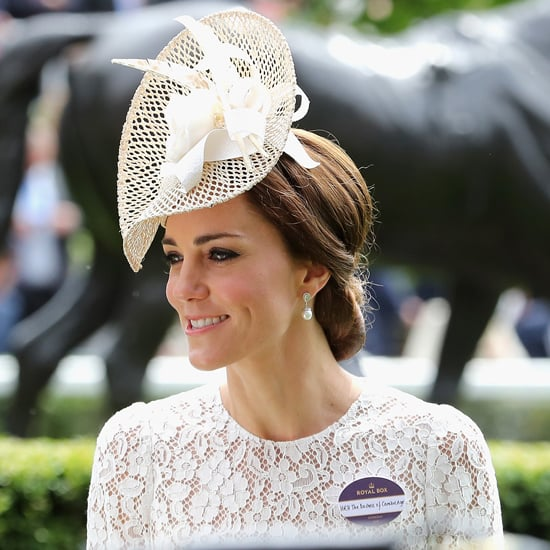 Duchess Kate's Dolce and Gabbana Dress at Royal Ascot 2016
