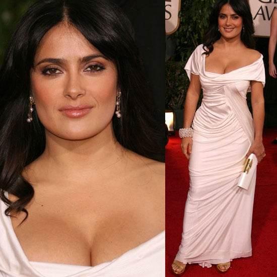 The Golden Globes Red Carpet: Salma Hayek