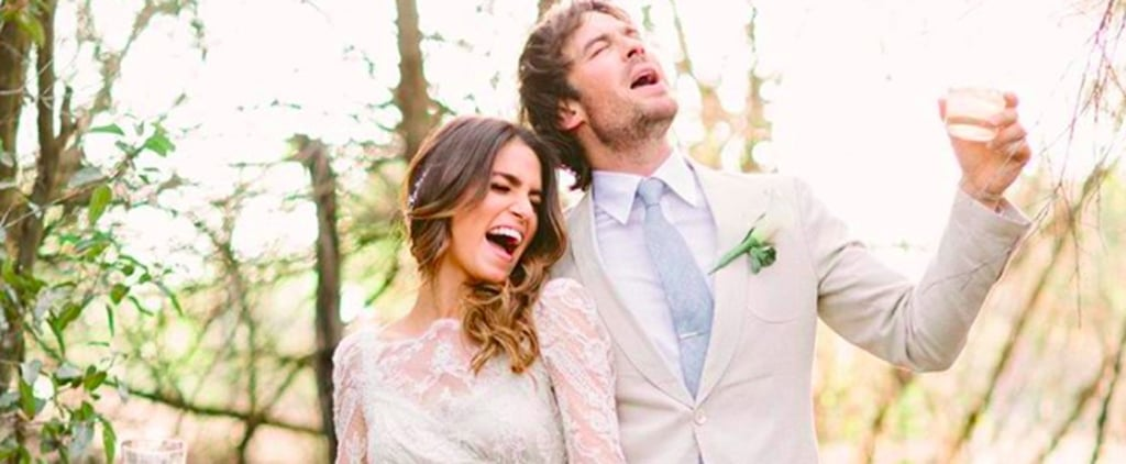 10 Tiny Details About Ian and Nikki's Picturesque Surprise Wedding
