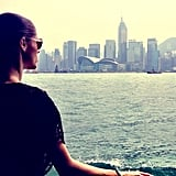 """Coco Rocha shared a photo from her """"whirlwind"""" trip to Hong Kong. Source: Twitter user cocorocha"""
