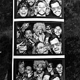 The whole gang, including former flames Stephen and Lauren, got silly in the photo booth.