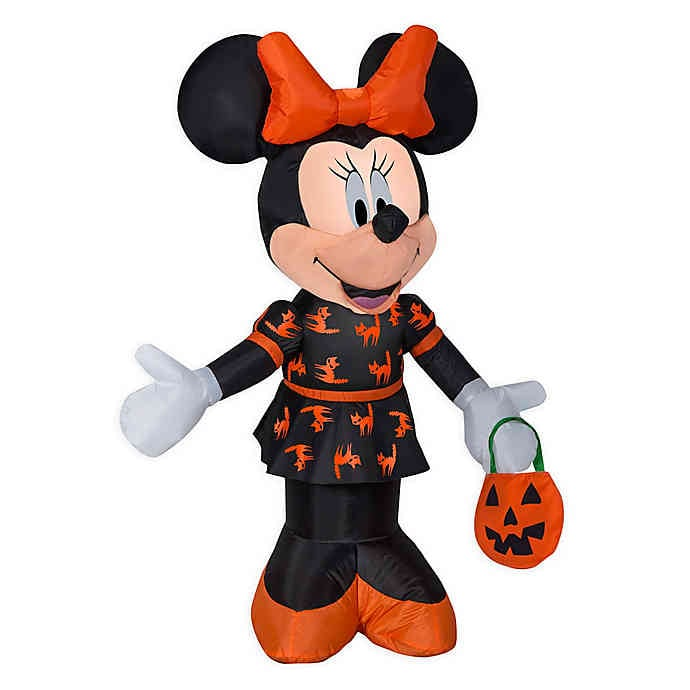 Disney Minnie Mouse Airblown Halloween Lawn Inflatable