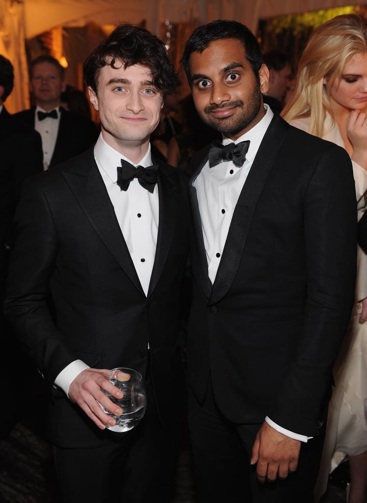 Daniel Radcliffe and Aziz Ansari both wore a tux to the White House Correspondant's Dinner.