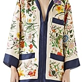 Gucci Floral Print Silk Set