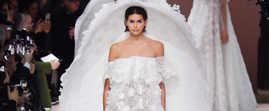 Kaia Gerber Givenchy Haute Couture Wedding Dress — Photos