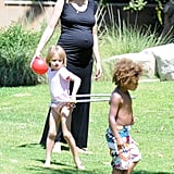 Photos of Heidi and the Kids in LA