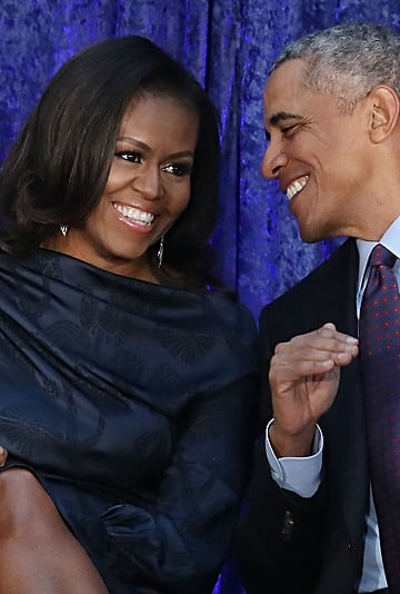 Michelle Obama Used Knitting Skills to Make Barack a Sweater