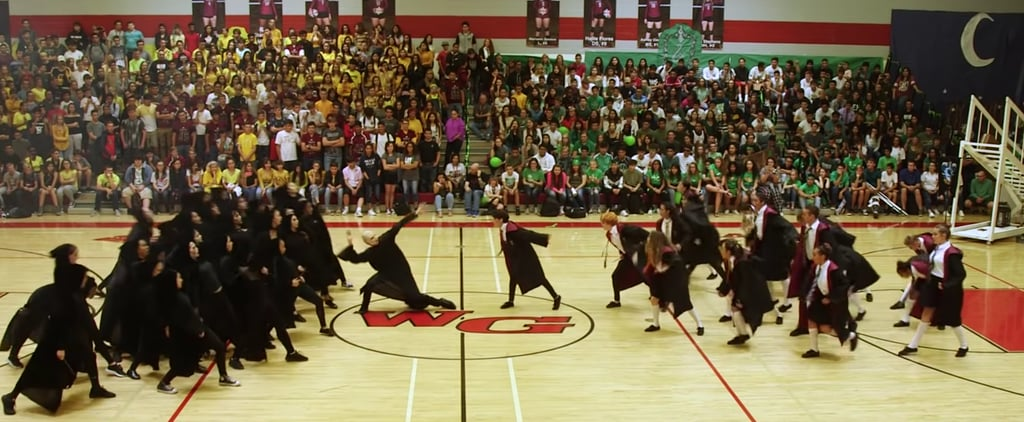 Harry Potter High School Dance Team's Homecoming Routine