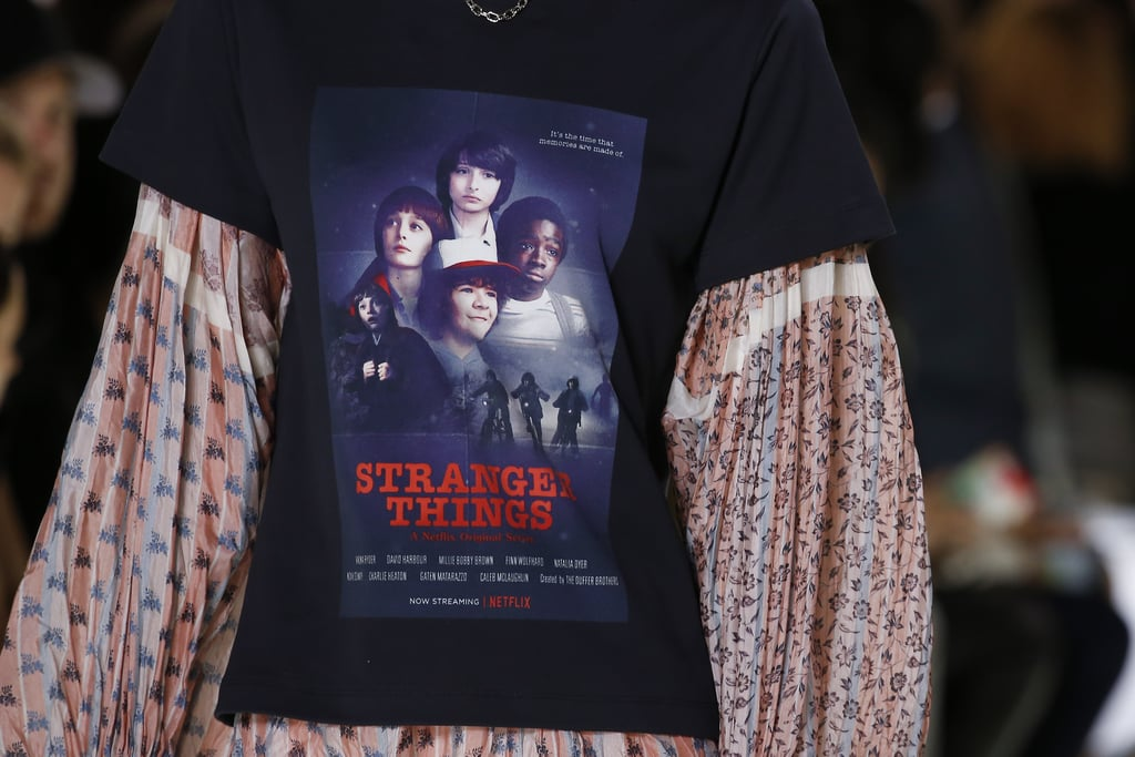 We Love Louis Vuitton's Stranger Things Tee Like Eleven Loves Eggos